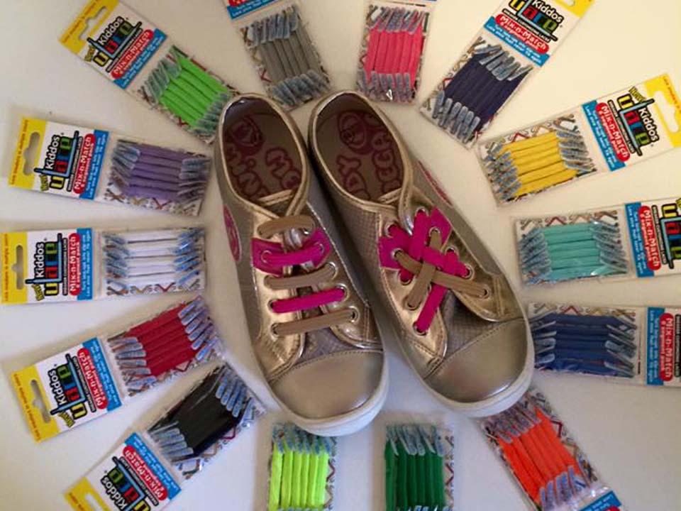 You-lace - leuke, gemakkelijke kleurrijke knoopvrije veters