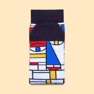 Feet Mondrian kousen