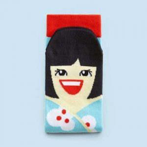 Fun socks - chatty feet - Yoko Mono - De Schoenkliniek