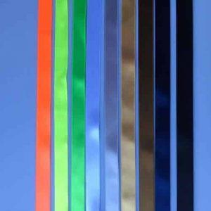 Satijnen schoenveters - multicolor